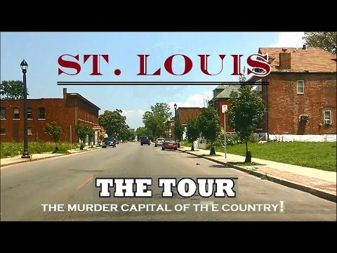 A Tour Of The Murder Capital Of The Country!! (St. Louis)