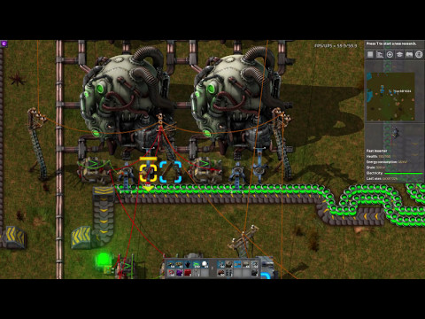 Factorio Uranium Reactor Refulling with Combinators