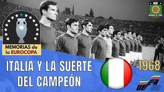 EUROCOPA ITALIA 1968 La Única Euro de la Azzurra Historia de la Eurocopa