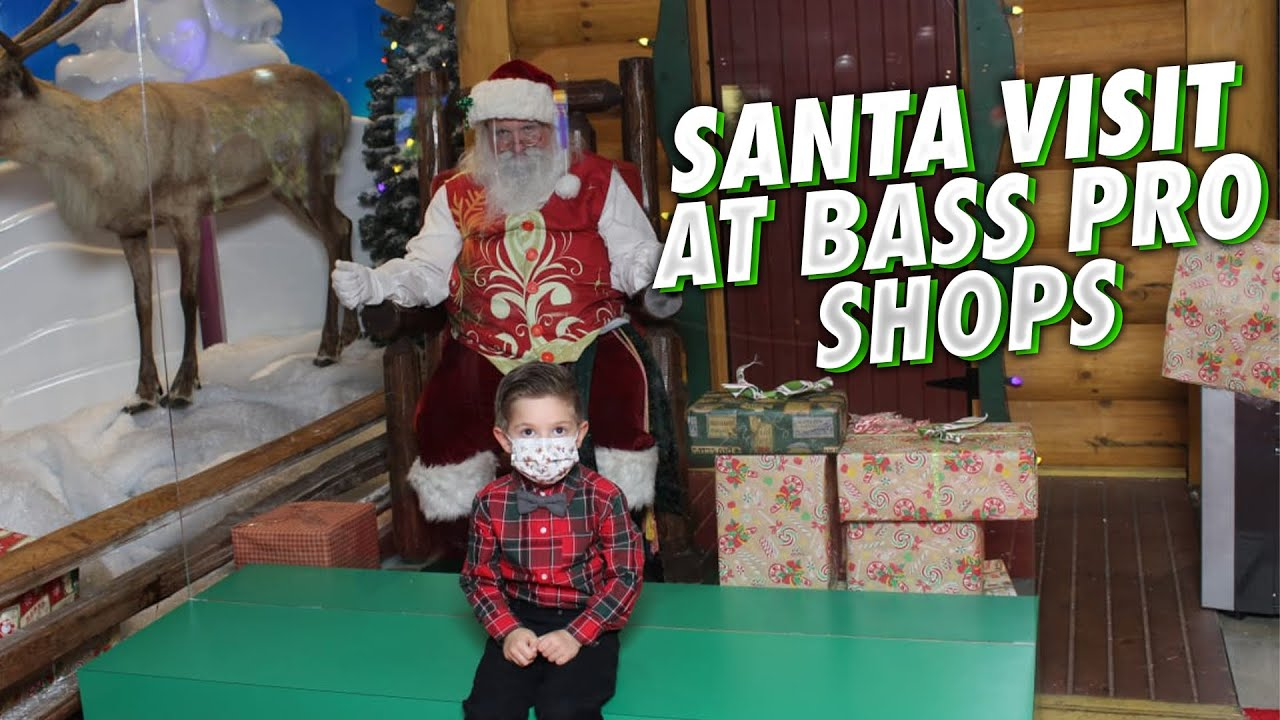 A Visit to Santa at Bass Pro Shops & a Surprise Visit to my Hubby at the Coconut Cup Race 2020
