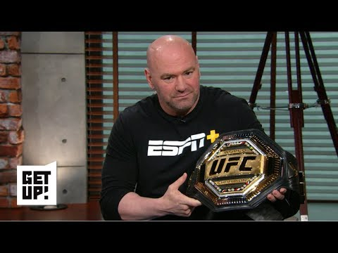Dana White reveals new UFC belt, calls Dillashaw-Cejudo 'as good as it gets' | Get Up!