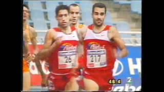 Antonio Reina Gran Premio San Sebastian 2001 800 m l