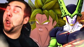CELL FOUND BROLY'S WEAKNESS?! | Kaggy Reacts to Perfect Cell VS Batman, Super Broly & Ryuk