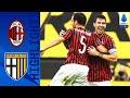 Milan 3-1 Parma | Kessie, Romagnoli And Çalhanoğlu Score In Comeback Win! | Serie A TIM
