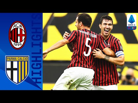 AC Milan Parma Goals And Highlights