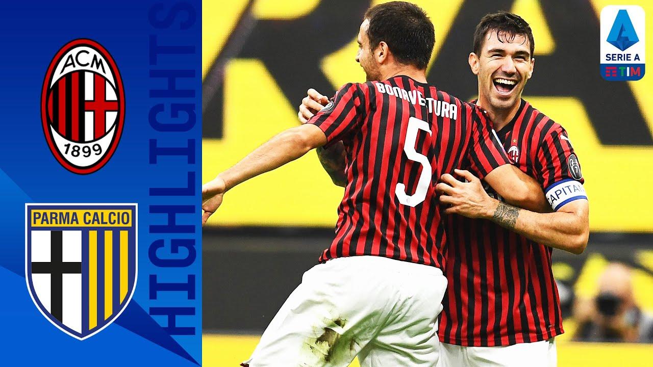 Milan 3-1 Parma
