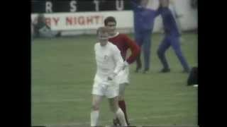 1969/70 - Leeds United v Manchester United - Billy Bremner Overhead Kick [Colour]