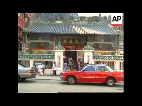 HONG KONG: CITIZENS OF HONG KONG PAY RESPECTS TO DENG XIAOPING