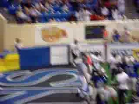 Eugene Goodman TD, World Indoor Bowl I in Columbus...