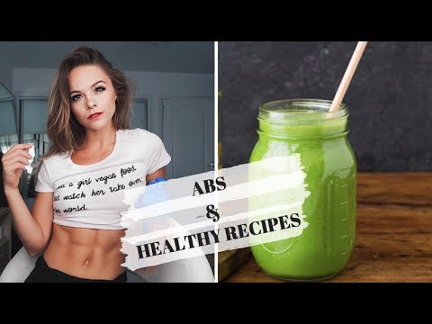 AB WORKOUT & GREEN SMOOTHIES // Naturally Stefanie