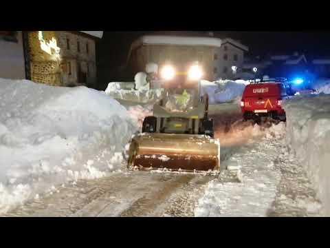 Nieve León Filomena: La UME en Posada de Valdeón - Parte 4