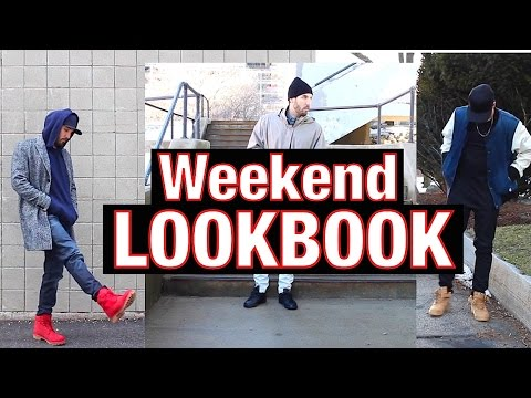 outfits-of-the-weekend---timberland,-adidas,-nike,-guess-x-asap-rocky---men's-fashion-lookbook