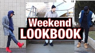 OUTFITS OF THE WEEKEND - Timberland, Adidas, Nike, GUESS X ASAP ROCKY - Men's Fashion Lookbook