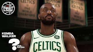 NBA 2K20 Kemba Walker Celtics Screenshot Comparison!