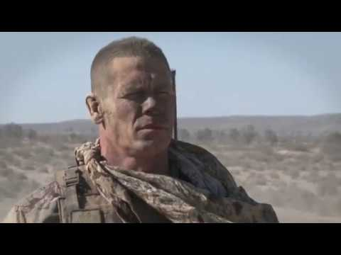 Exclusive Clip of John Cena on The Set of The Wall