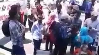 Demo refugees in makassar 21/2/2018