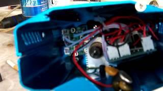 Laser stage lighting hack (inside)