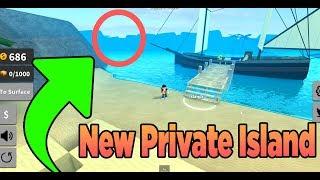 I Bought Private Island on Treasure Hunt Simulator Roblox