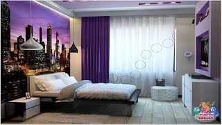 Beautiful bedrooms in a modern style.