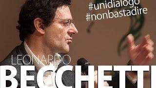 Leonardo Becchetti al Sermig - Università del Dialogo