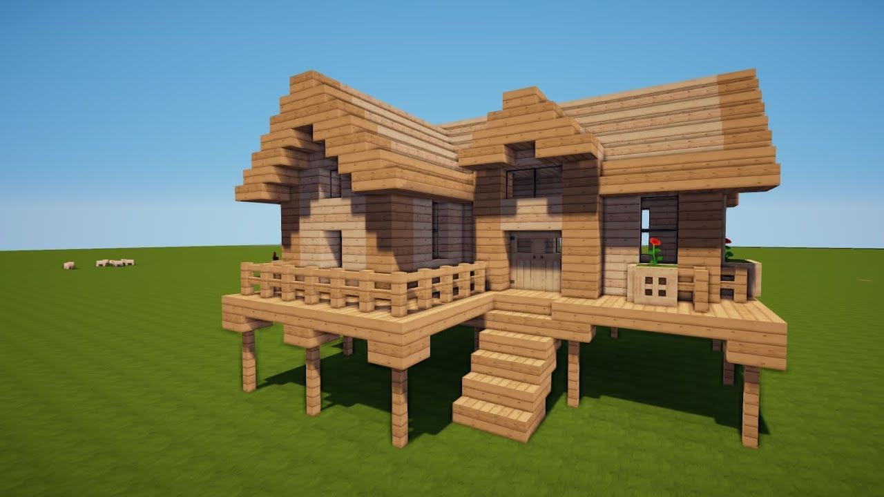 Minecraft haus bauen anleitung modernes haus minecraft for Minecraft modernes haus youtube