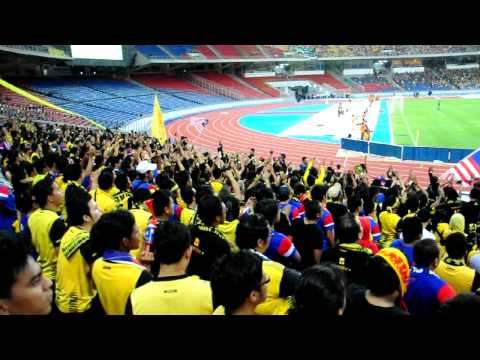 Ayuh bangkit bersama by Ultras Malaya  Qualifying Olimpic vs Syria