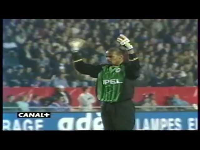 PSG 3-0 Liverpool (1/2 Aller de Coupe des Coupes 1996-1997)