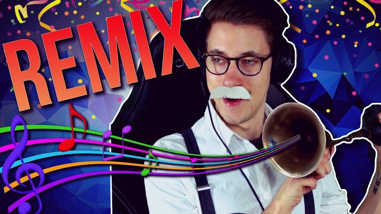 MUSIK mit HandOfBlood - REMIX Party - YouTube