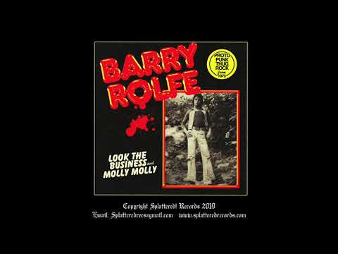 Barry Rolfe - 'Look the Business' Splattered Records 2020