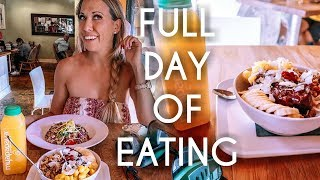Full Day of Eating & Workout | Tips for Balance and Leaning out