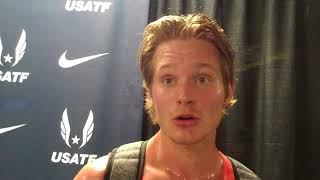 Drew Hunter Upset with his tactics after 2018 USATF 1500