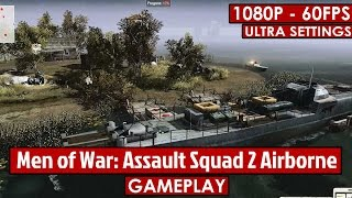 Men of War: Assault Squad 2 Airborne gameplay HD - WW2 Strategy - [1080p - 60fps]