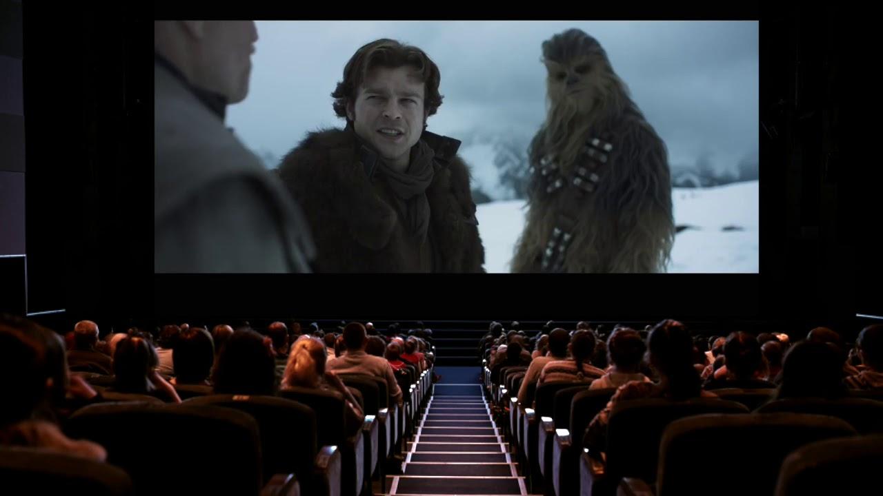 Resultado de imagen para star wars cinema reaction