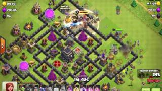 Clash of Clans Unusual Attacks of All Kinds, One Troop, Three Stars