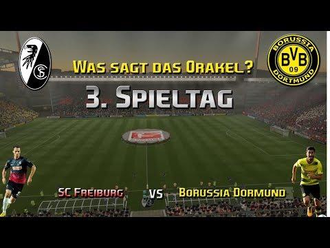 Bundesliga Oraklel 3. Spieltag   Saison 2017/18 SC Freiburg vs Borussia Dortmund  FIFA 17