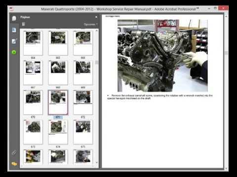 maserati quattroporte 2004 2012 workshop service repair manual rh youtube com Maserati Ghibli Custom Maserati Quattroporte
