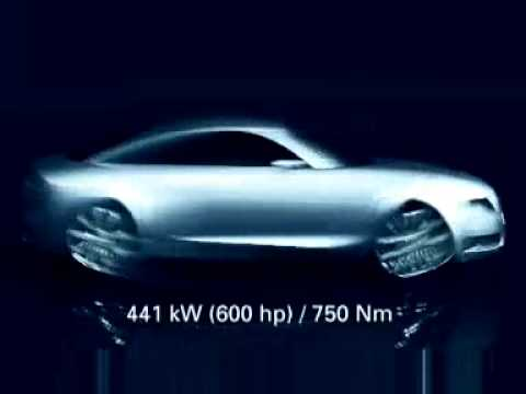 2003 Audi Nuvolari quattro Concept promotional video
