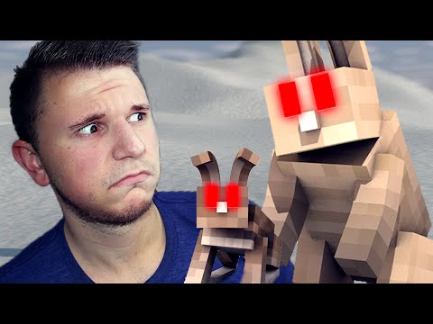 EVIL DEMON BUNNIES! | Minecraft Sandbox Fun w/ Golubovic