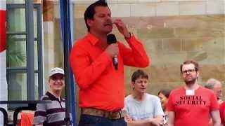Ingo Appelt in Wolfenbüttel 2013 - SPD Bundestagswahl