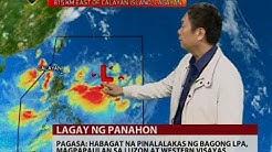 24 Oras: PAGASA: Habagat na pinalalakas ng bagong LPA, magpapaulan sa Luzon at Western Visayas