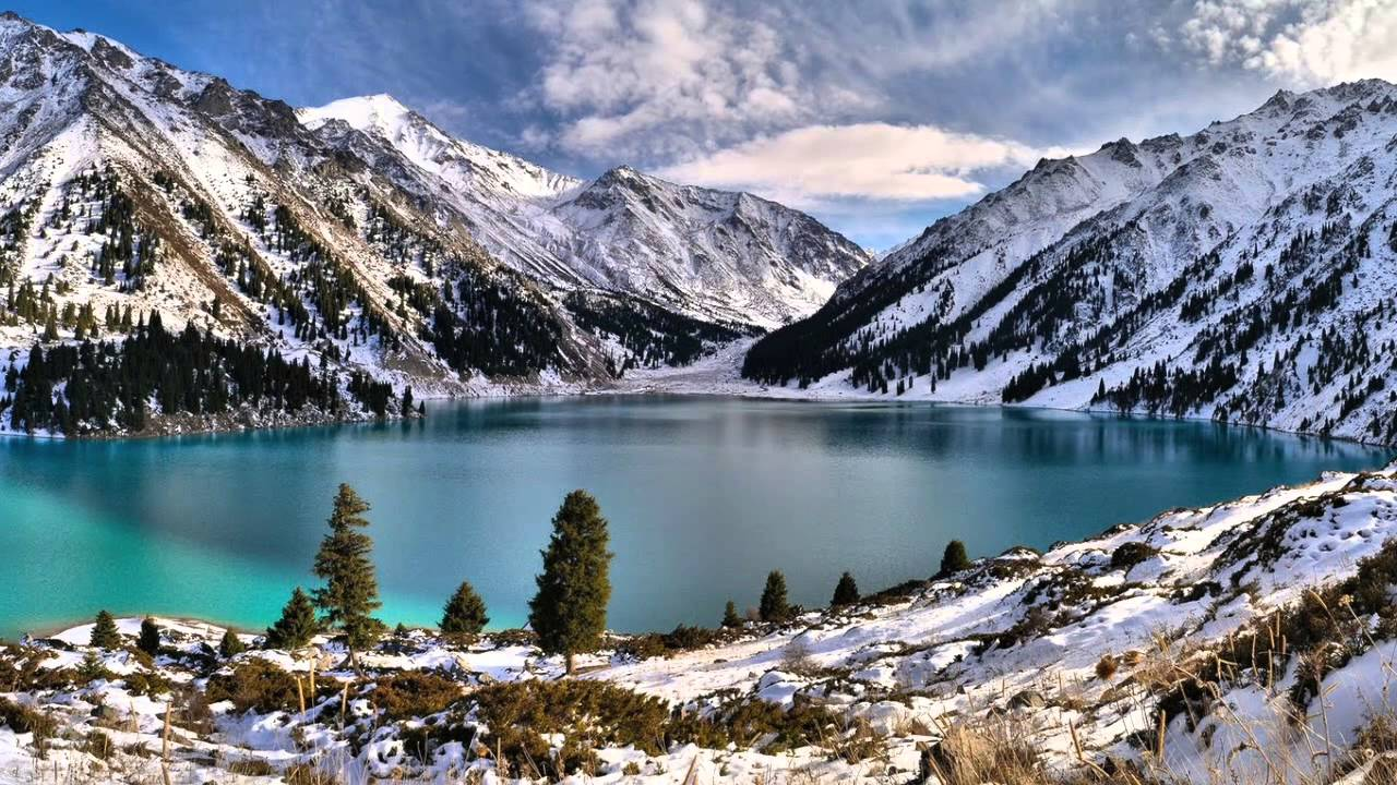 Una Montaña Nevada: Paisajes Nevados: Montañas Con Nieve (Devi Prayer)