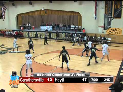 2016 Bootheel Conference JV Finals - Hayti vs. Caruthersville 2-5-16