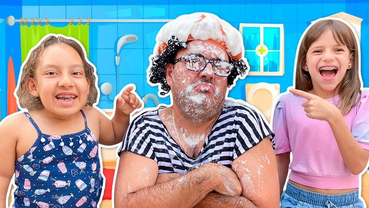 Maria Clara e Jessica encontraram um CHUVEIRO MÁGICO | Learn and Play Video for Kids  - MC Divertida