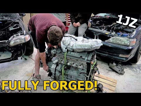 Built Turbo H22a Build Begins & 1JZ J Pipe Delete