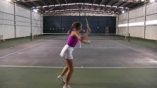 Megan Lombardi, USA Scholarship 2019, Tennis