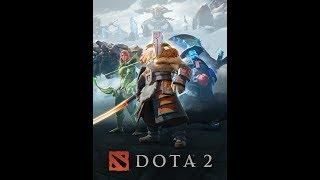 Playing Dota 2