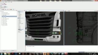 ETS2 - Tutorial Edição de Trucks Zmodeler2