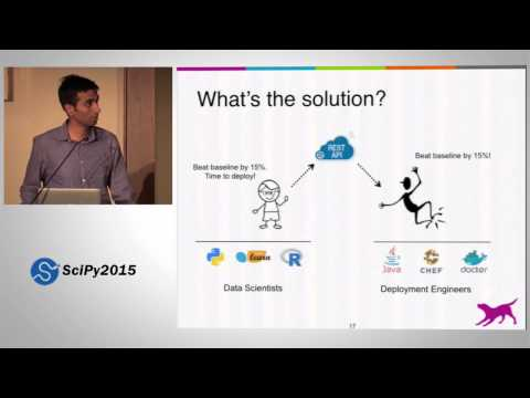 Deploying Python Machine Learning Models in Production | SciPy 2015 | Krishna Sridhar
