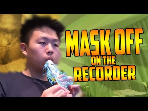 Future - Mask Off [On The Recorder]