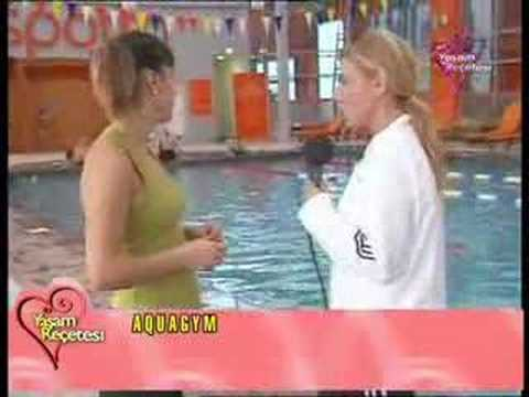 Emel Aktan Ile Yaşam Reçetesi Aquagym Su Jimnastiği